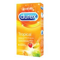 DUREX TROPICAL EASY-ON 6 PEZZI