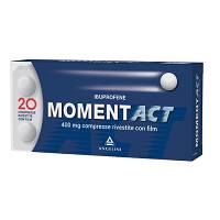 MOMENTACT 20COMPRESSE RIVESTITE 400MG