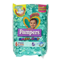 PAMPERS BABY DRY DUO XL 30 PZ
