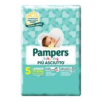 PAMPERS BABY DRY JUNIOR 17 PEZZI