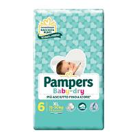 PAMPERS BABY DRY MAXI 19 PEZZI