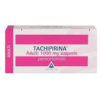 TACHIPIRINA ADULTI 1000 MG SUPPOSTE