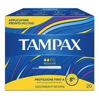TAMPAX BLUE BOX REGULAR 20PEZZI