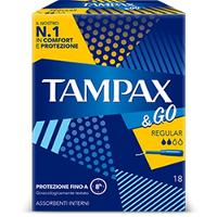 TAMPAX&GO REGULAR 8PZ