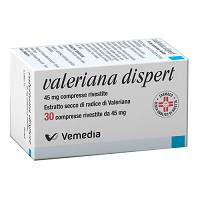 VALERIANA DISPERT 30COMPRESSE RIVESTITE45M