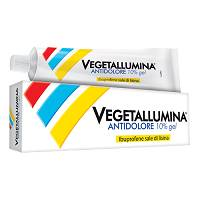 VEGETALLUMINA ANTIDOLORE GEL 50G10%