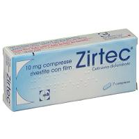 ZIRTEC 10 MG 7 COMPRESSE