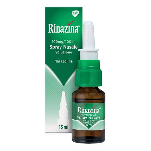 RINAZINA SPRAY NASALE 0,1% 15 ML